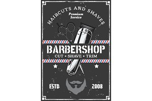 Barbershop hairclipper, beard