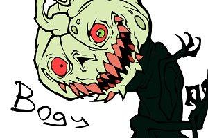 Halloween bogy