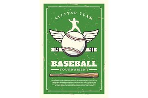 Baseball sport tournament