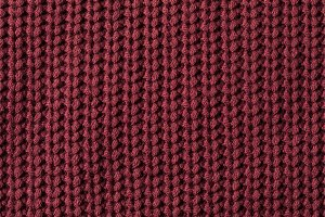 texture of burgundy sweater