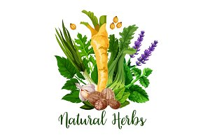 Natural herbs and seasonings