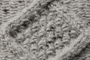 texture of knitted sweater with patt