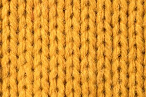 texture of yellow sweater