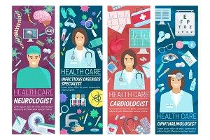 Neurology, cardiology medicine