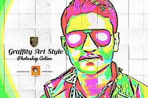 Graffity Art Style Photoshop Action