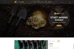 AltCoins Crypto WordPress Theme