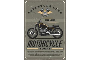 Motorcycle tours, adventure club