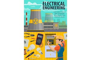 Electrical engineering power plant