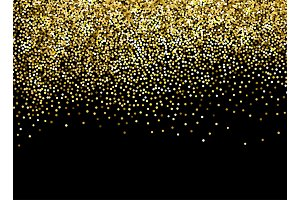 Vector Color glitter background for