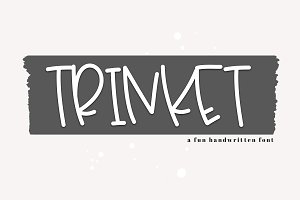 Trinket - A Fun Handwritten Font