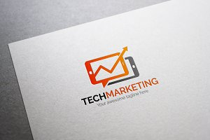 Tech Marketing Logo