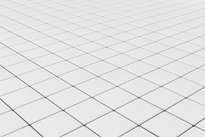 White tile flooring, architecture pa