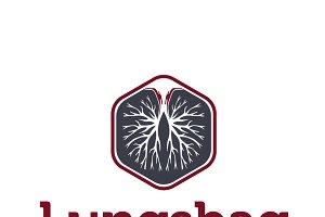 Lungs bag Logo