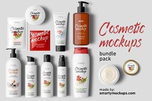 Cosmetic Mockups Bundle Pack
