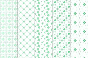 Circle seamless patterns