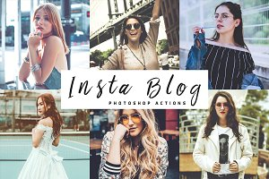 Insta Blog Photoshop Actions