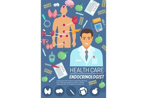 Endocrinologist doctor
