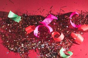 big christmas confetti