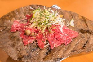 Japanese beef Wagyu grill