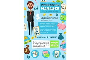 Manager profession. Business