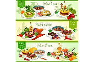 Italian cuisine dishes, salad