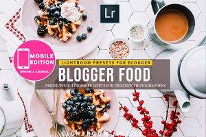 Food blogger Lightroom Preset Mobile