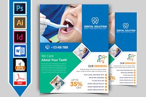 Dental Flyer Template Vol-03