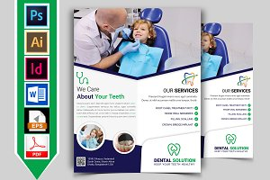 Dental Flyer Template Vol-02