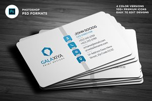 Simple Corporate Business Cards