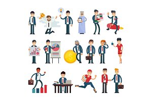 Business people vector businessmen