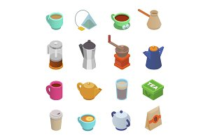 Coffee cup vector teacup icon