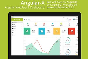 AngularX - Angular Admin & Dashboard