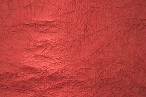 close up view of red wrapping paper