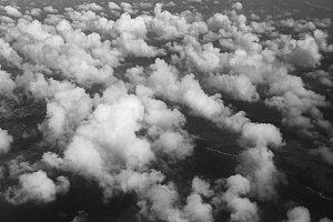 Moody Skies Scuttling Clouds