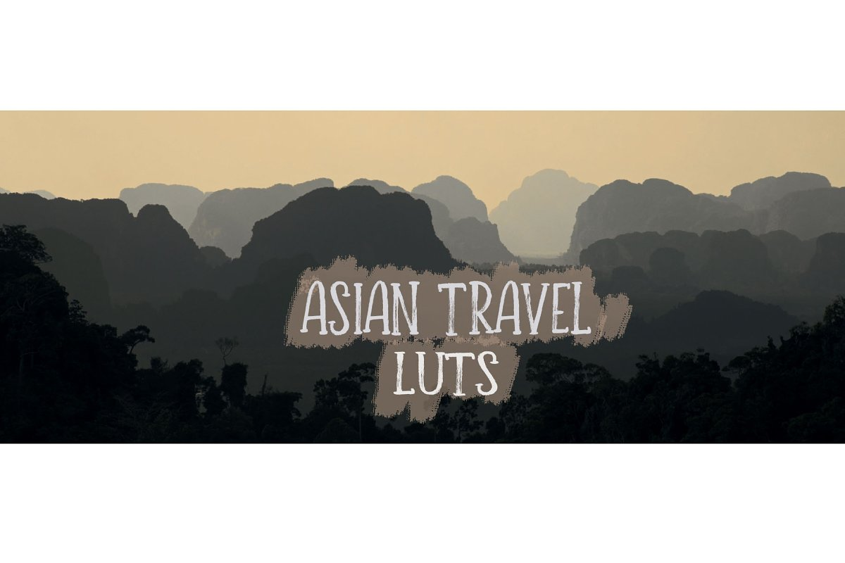 Asian Travel LUTs ~ Photoshop Add-Ons ~ Creative Market