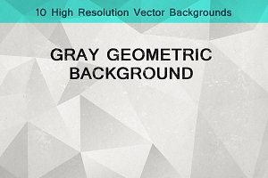 Geometric Triangle Backgrounds 10
