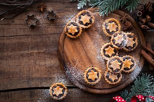 Christmas baking - mince pies