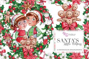 Santa's Little Helpers Arrangements