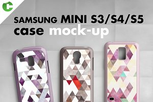 Samsung Mini S3/S4/S5 mock-up