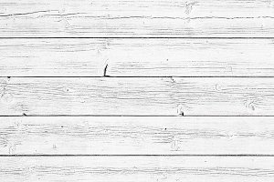 Rustic White Wood Background Texture