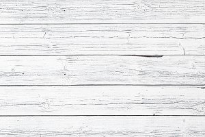 Painted White Wood Texture