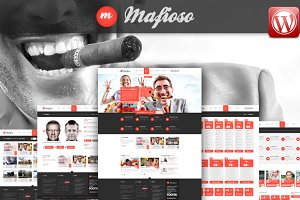Mafioso Wordpress Responsive Theme