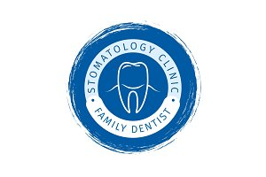 Family dentist logo design