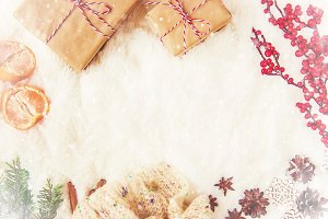 Christmas background. happy New Year