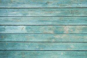 Teal Vintage Wooden Background