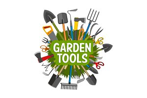Gardening tools, equipment