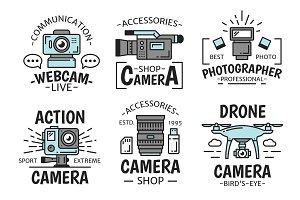 Digital devices, camera and webcam
