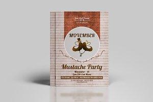Movember Party Flyer - V893