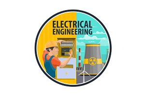 Engineering power plant, electrician