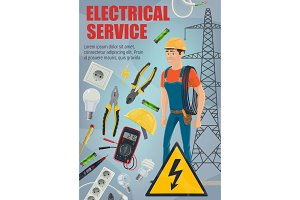 Electrician, equipment and service